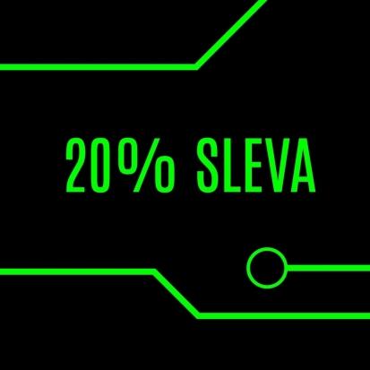 20% sleva